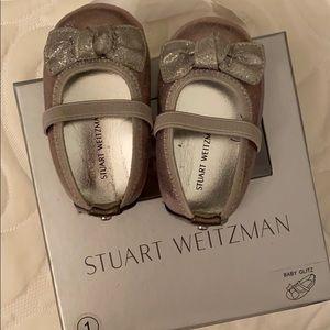 Adorable Stuart weitzman size 1 infant shoes